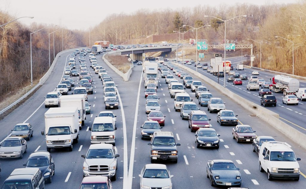 Would you do anything to get out of this rush-hour traffic where the Capital Beltway and I-270 merge? How about paying a toll for a faster lane? (Manuel Balce Ceneta/AP)